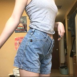 Mid-rise Union Bay Denim Shorts